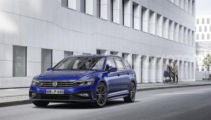 Volkswagen Passat 2019, nuovo design e motori - Foto 1 di 32