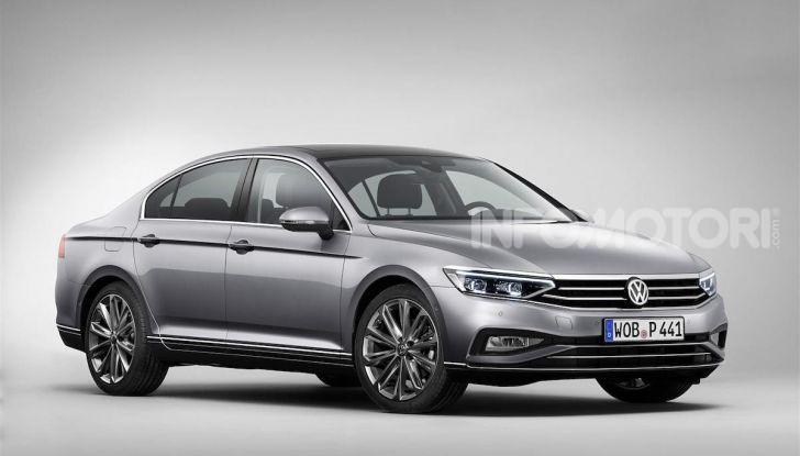 Volkswagen Passat 2019, nuovo design e motori - Foto 12 di 32