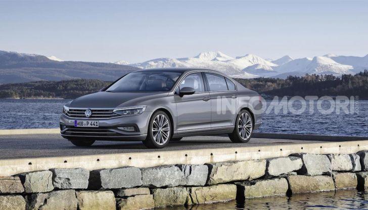 Volkswagen Passat 2019, nuovo design e motori - Foto 22 di 41