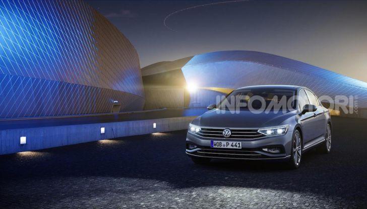 Volkswagen Passat 2019, nuovo design e motori - Foto 14 di 32