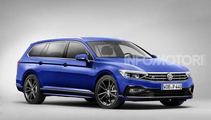 Volkswagen Passat 2019, nuovo design e motori - Foto 7 di 41