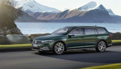 Volkswagen Passat 2019, nuovo design e motori