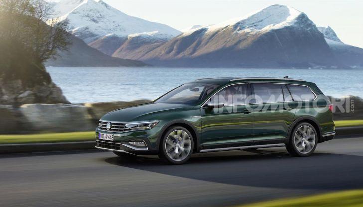Volkswagen Passat 2019, nuovo design e motori - Foto 30 di 41