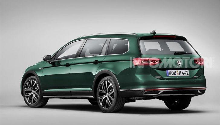 Volkswagen Passat 2019, nuovo design e motori - Foto 34 di 41
