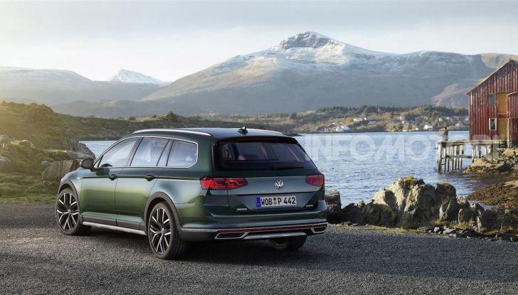 Volkswagen Passat 2019, nuovo design e motori - Foto 35 di 41