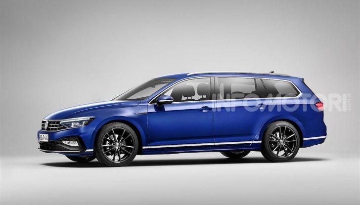 Volkswagen Passat 2019, nuovo design e motori - Foto 3 di 32