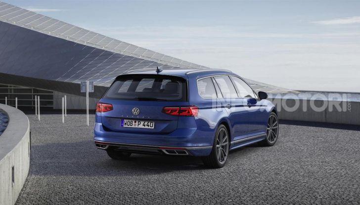 Volkswagen Passat 2019, nuovo design e motori - Foto 10 di 41
