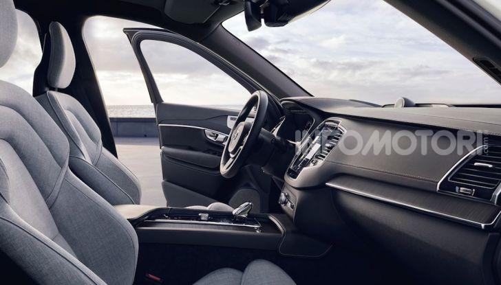 Volvo XC90: il SUV svedese è tutto nuovo - Foto 13 di 30
