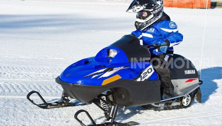Bambini in sella: lo Snow Kids Yamaha con SRX 125 - Foto 4 di 7