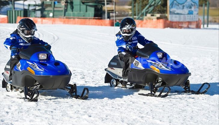 Bambini in sella: lo Snow Kids Yamaha con SRX 125 - Foto 2 di 7
