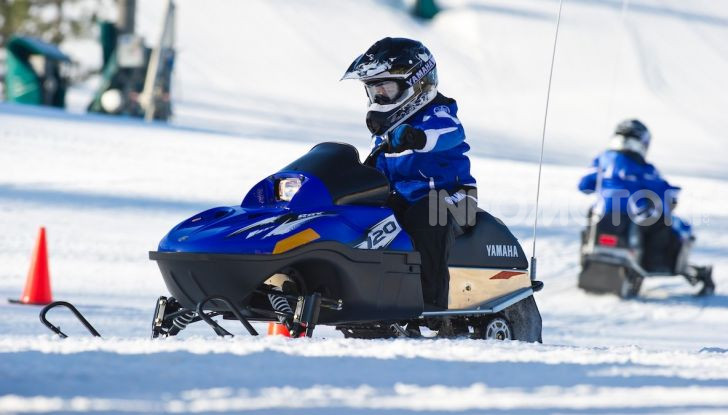 Bambini in sella: lo Snow Kids Yamaha con SRX 125 - Foto 6 di 7