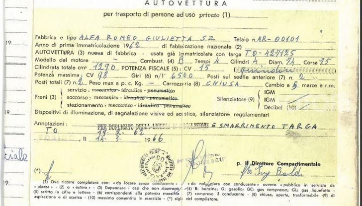 Alfa Romeo Giulietta SZ, l'asta tocca cifre record - Foto 10 di 15