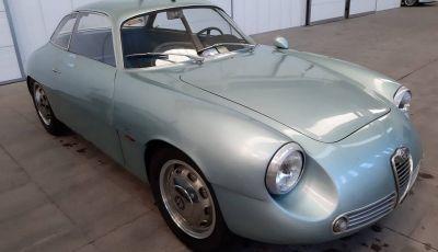 Alfa Romeo Giulietta SZ, l'asta tocca cifre record