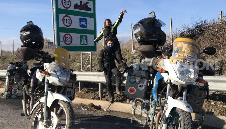 Turchia-Italia in moto per testare il valore degli pneumatici invernali - Foto 1 di 34