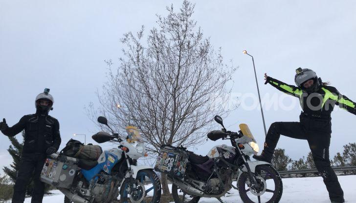 Turchia-Italia in moto per testare il valore degli pneumatici invernali - Foto 11 di 34