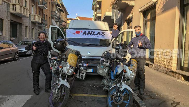 Turchia-Italia in moto per testare il valore degli pneumatici invernali - Foto 26 di 34