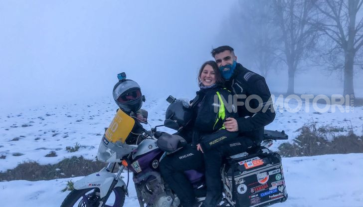 Turchia-Italia in moto per testare il valore degli pneumatici invernali - Foto 27 di 34