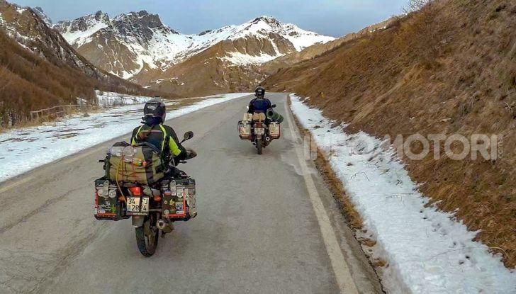 Turchia-Italia in moto per testare il valore degli pneumatici invernali - Foto 32 di 34