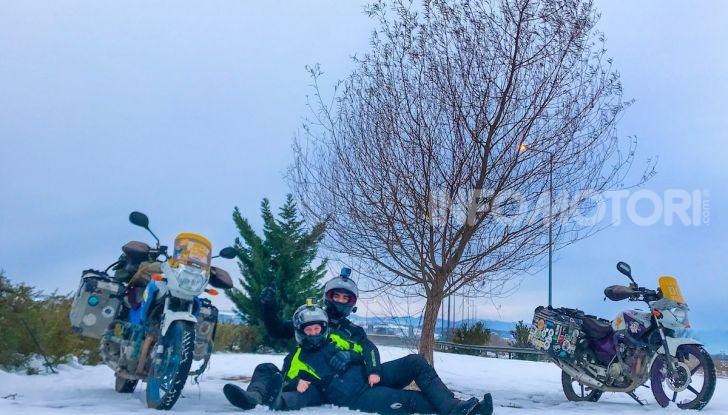 Turchia-Italia in moto per testare il valore degli pneumatici invernali - Foto 5 di 34