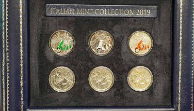 La Vespa diventa una moneta da collezione