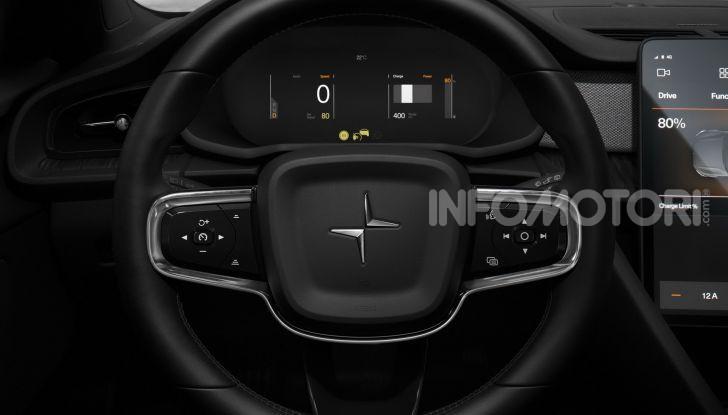Polestar 2: caratteristiche, autonomia e prezzi del crossover elettrico - Foto 28 di 31