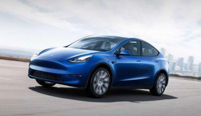Tesla Model Y ordinabile in Italia da 57.980 euro