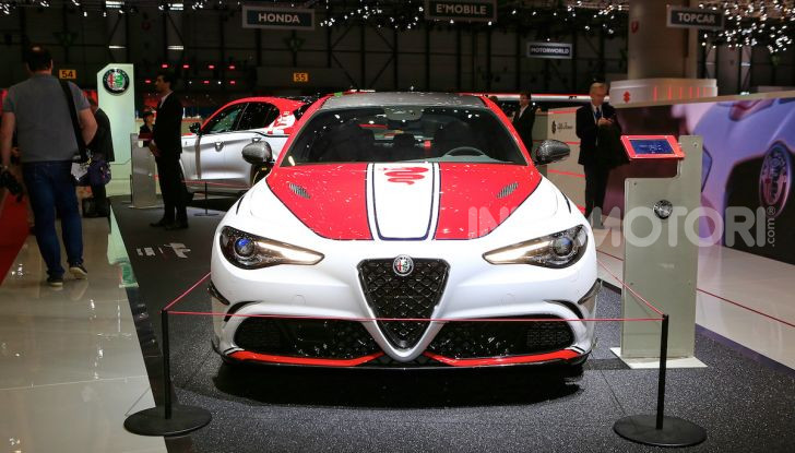 """Alfa Romeo Giulia Quadrifoglio e Stelvio Quadrifoglio: nuove serie speciali """"Alfa Romeo Racing"""" - Foto 2 di 18"""