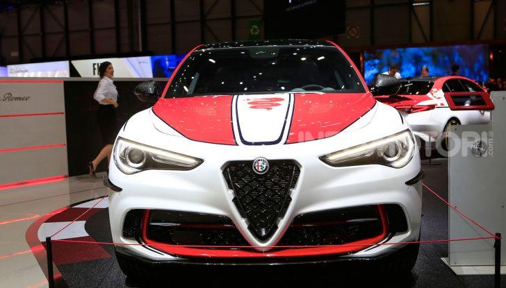 """Alfa Romeo Giulia Quadrifoglio e Stelvio Quadrifoglio: nuove serie speciali """"Alfa Romeo Racing"""" - Foto 13 di 18"""