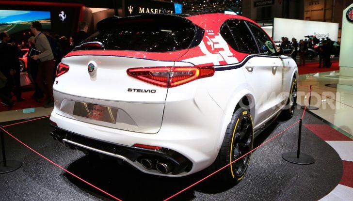 """Alfa Romeo Giulia Quadrifoglio e Stelvio Quadrifoglio: nuove serie speciali """"Alfa Romeo Racing"""" - Foto 16 di 18"""