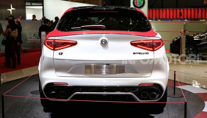 """Alfa Romeo Giulia Quadrifoglio e Stelvio Quadrifoglio: nuove serie speciali """"Alfa Romeo Racing"""" - Foto 17 di 18"""