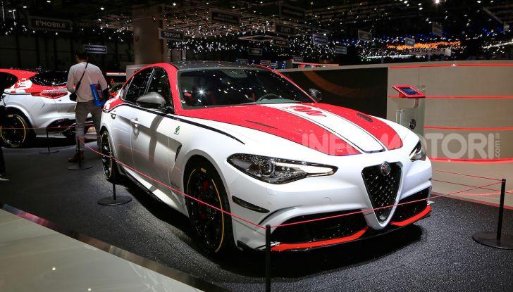 """Alfa Romeo Giulia Quadrifoglio e Stelvio Quadrifoglio: nuove serie speciali """"Alfa Romeo Racing"""" - Foto 5 di 18"""