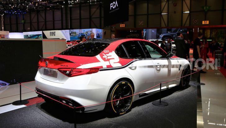 """Alfa Romeo Giulia Quadrifoglio e Stelvio Quadrifoglio: nuove serie speciali """"Alfa Romeo Racing"""" - Foto 8 di 18"""
