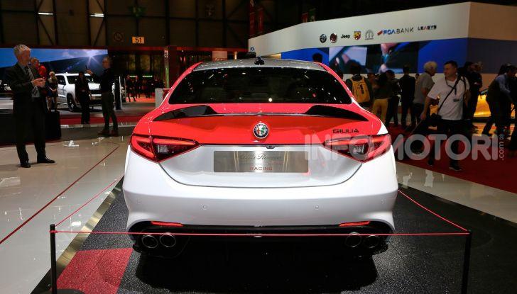 """Alfa Romeo Giulia Quadrifoglio e Stelvio Quadrifoglio: nuove serie speciali """"Alfa Romeo Racing"""" - Foto 9 di 18"""