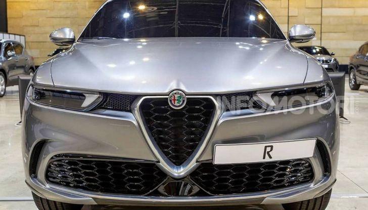 Alfa Romeo Tonale eletta migliore Concept car al Car Design Award 2019 - Foto 1 di 40