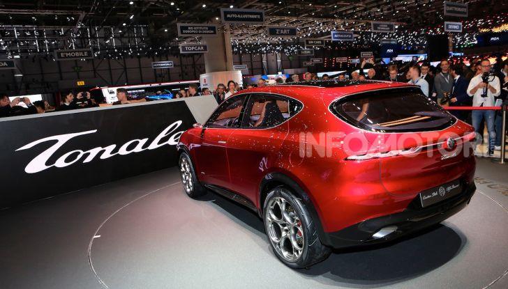 Alfa Romeo Tonale 2019: Il SUV Compatto su base Renegade - Foto 4 di 37
