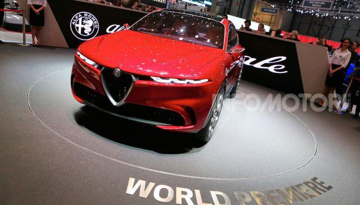 Alfa Romeo Tonale 2019: Il SUV Compatto su base Renegade - Foto 16 di 40