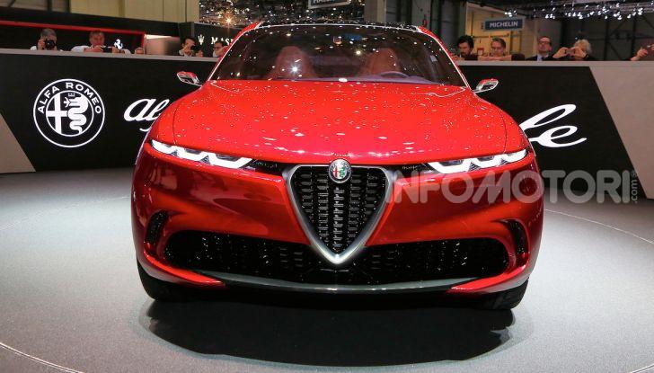 Alfa Romeo Tonale 2019: Il SUV Compatto su base Renegade - Foto 6 di 40