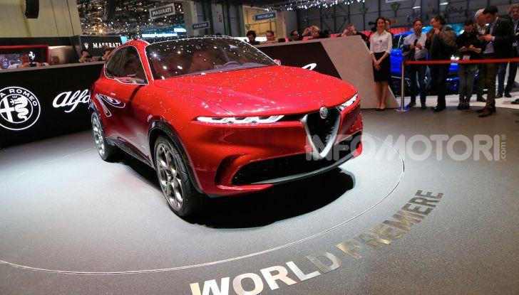 Alfa Romeo Tonale 2019: Il SUV Compatto su base Renegade - Foto 14 di 37