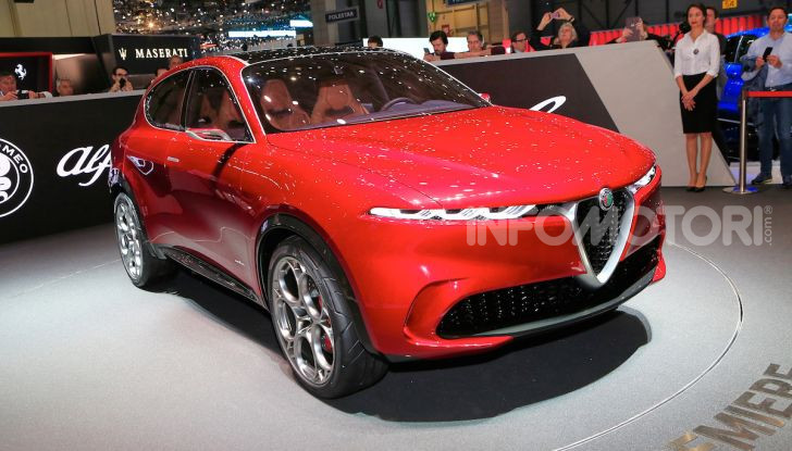 Alfa Romeo Tonale 2019: Il SUV Compatto su base Renegade - Foto 4 di 40