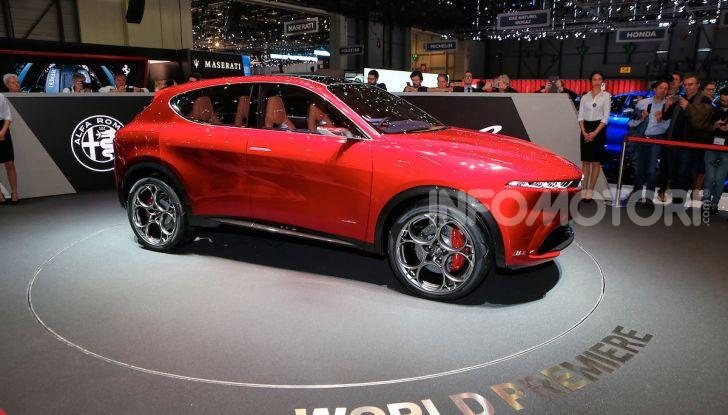 Alfa Romeo Tonale eletta migliore Concept car al Car Design Award 2019 - Foto 19 di 40