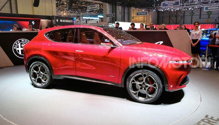 Alfa Romeo Tonale 2019: Il SUV Compatto su base Renegade - Foto 20 di 40