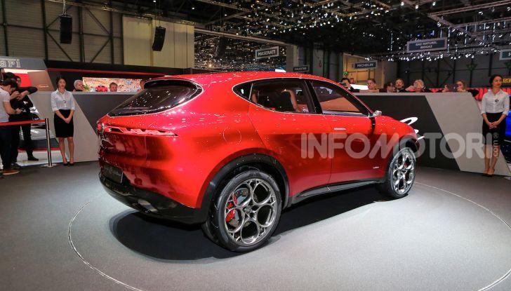 Alfa Romeo Tonale 2019: Il SUV Compatto su base Renegade - Foto 19 di 37