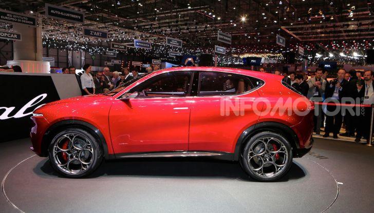 Alfa Romeo Tonale 2019: Il SUV Compatto su base Renegade - Foto 5 di 37
