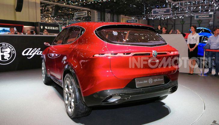 Alfa Romeo Tonale 2019: Il SUV Compatto su base Renegade - Foto 22 di 37
