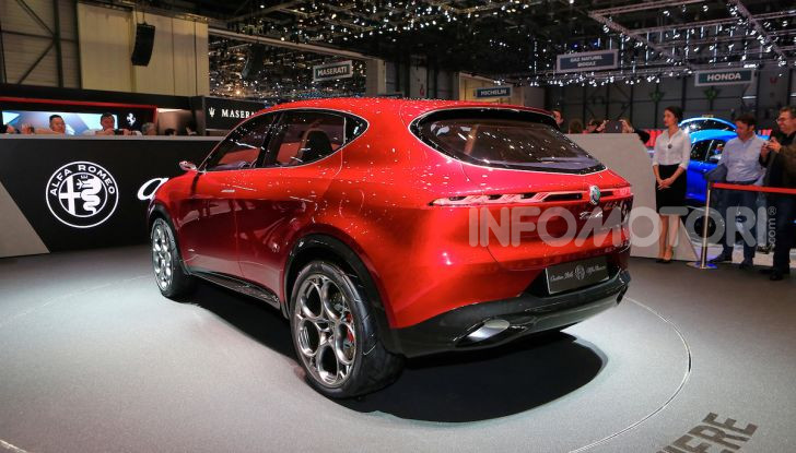Alfa Romeo Tonale 2019: Il SUV Compatto su base Renegade - Foto 23 di 37
