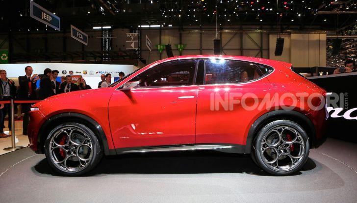 Alfa Romeo Tonale 2019: Il SUV Compatto su base Renegade - Foto 24 di 37