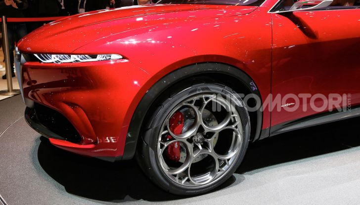Alfa Romeo Tonale 2019: Il SUV Compatto su base Renegade - Foto 9 di 37