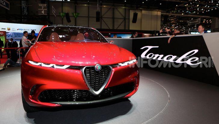 Alfa Romeo Tonale 2019: Il SUV Compatto su base Renegade - Foto 26 di 37