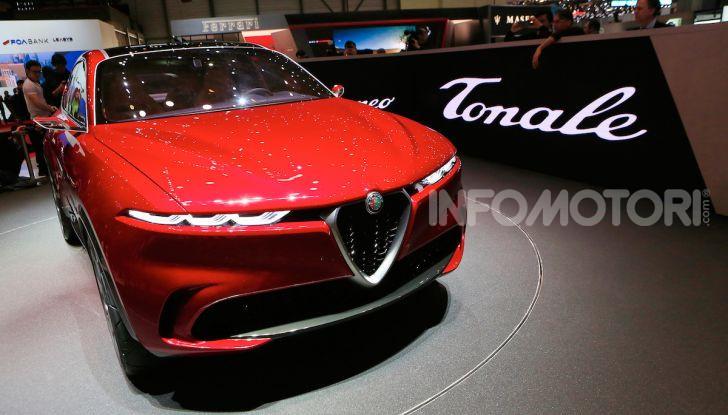 Alfa Romeo Tonale 2019: Il SUV Compatto su base Renegade - Foto 30 di 40
