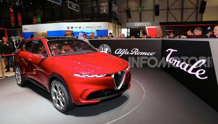 Alfa Romeo Tonale 2019: Il SUV Compatto su base Renegade - Foto 28 di 37